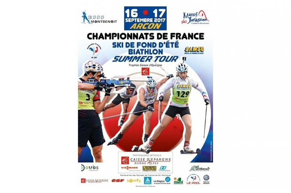 Championnat de France biathlon et ski de fond d'été