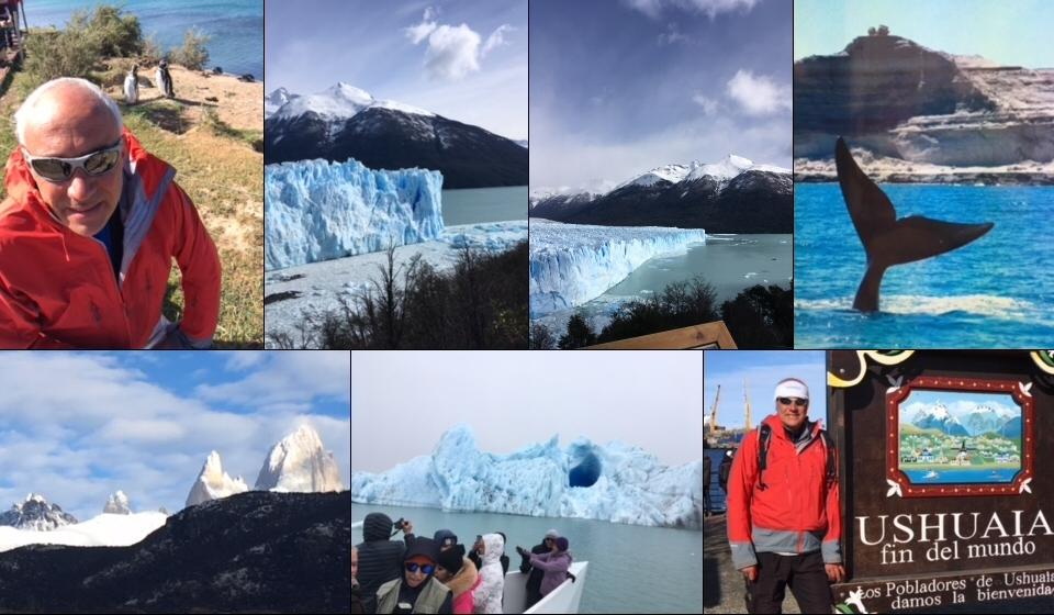 Une carte postale d'Argentine