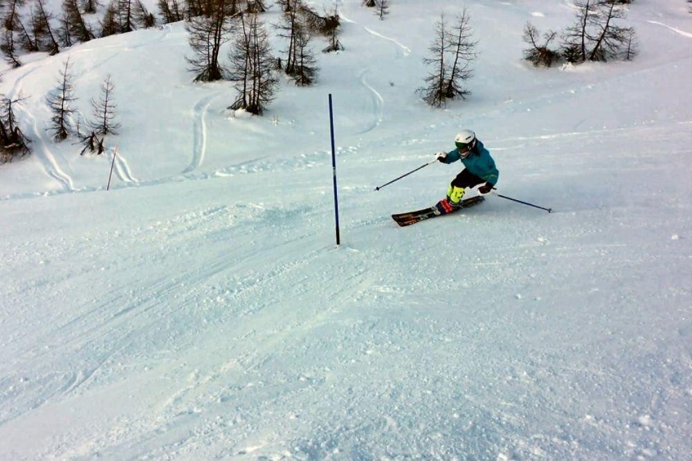 La saison d'alpin a démarré