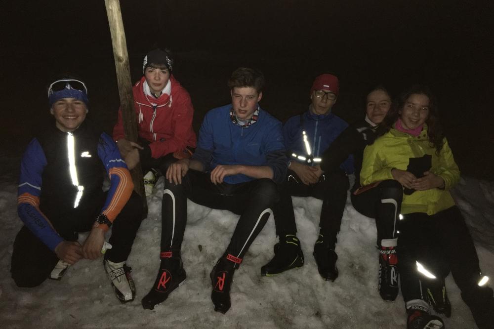 Ski nocturne d'équinoxe
