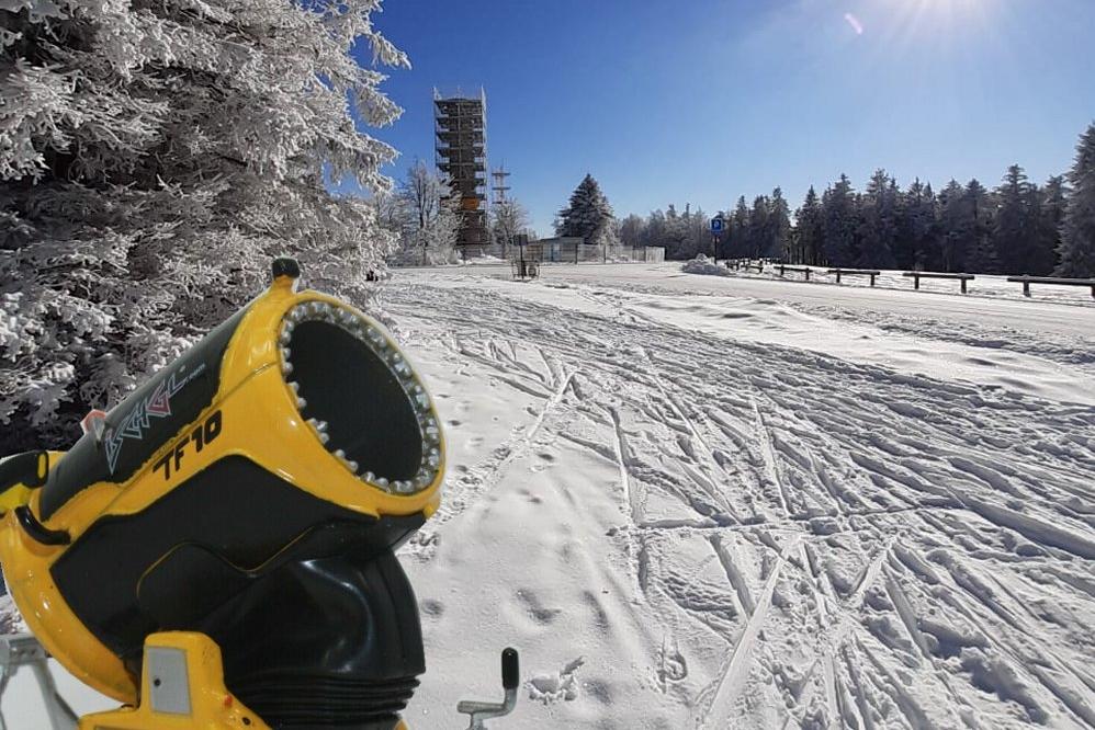 Bientôt les canons à neige !
