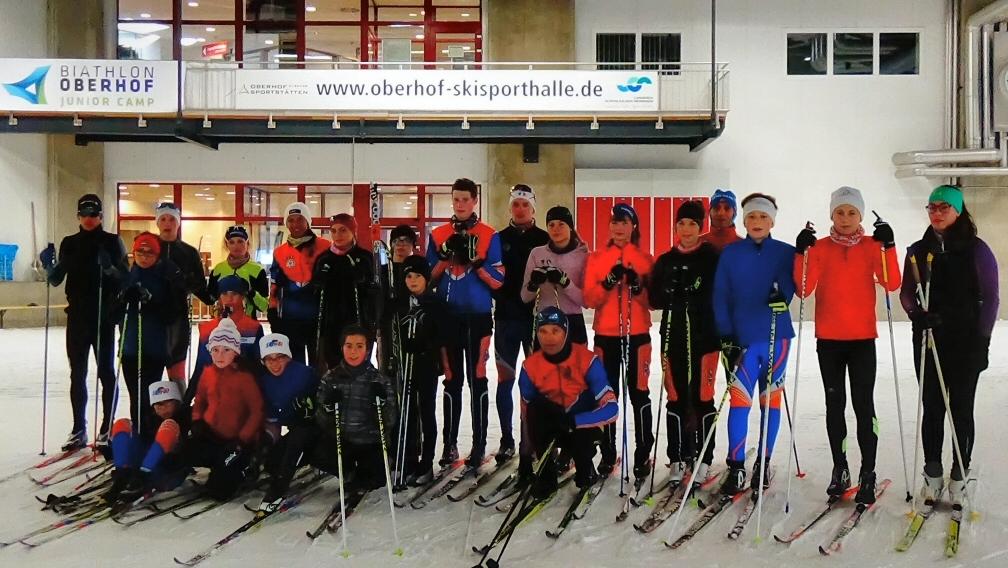 Stage de neige à Oberhof