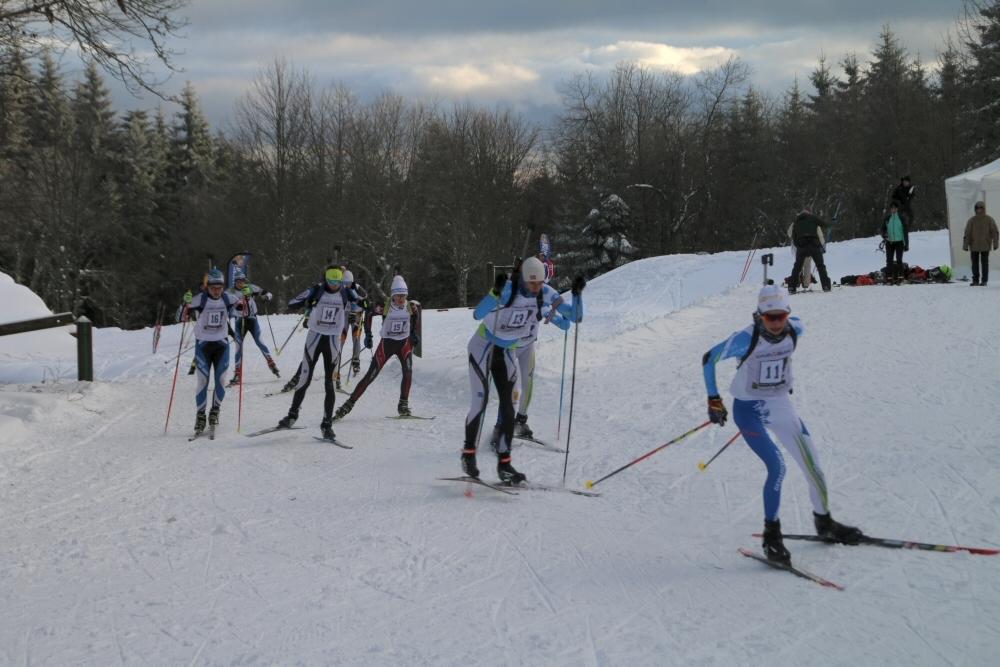Première course de la saison régionale au Champ du Feu.